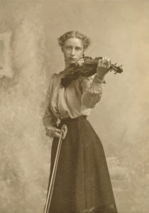 Women Playing Musical Instruments in the 1800s (9)